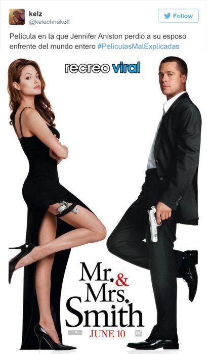 Peliculas Mal Explicadas - Sr. y Sra. Smith