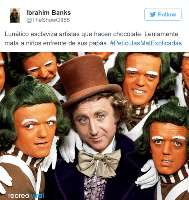 Peliculas Mal Explicadas - Willy Wonka