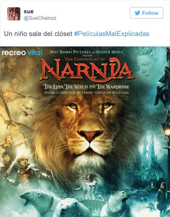 Peliculas Mal Explicadas - Narnia