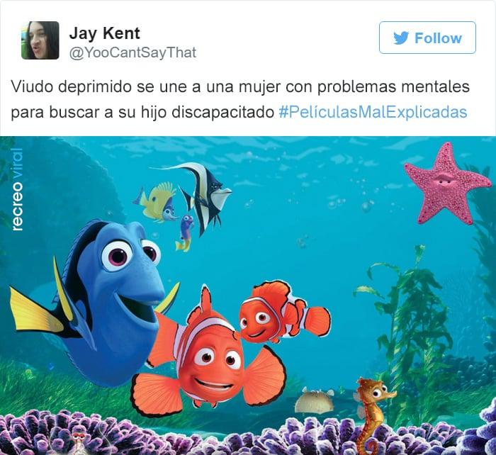 Peliculas Mal Explicadas - Buscando a Nemo