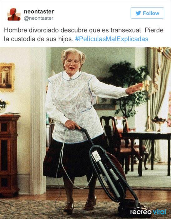 Peliculas Mal Explicadas - Mrs. Doubtfire