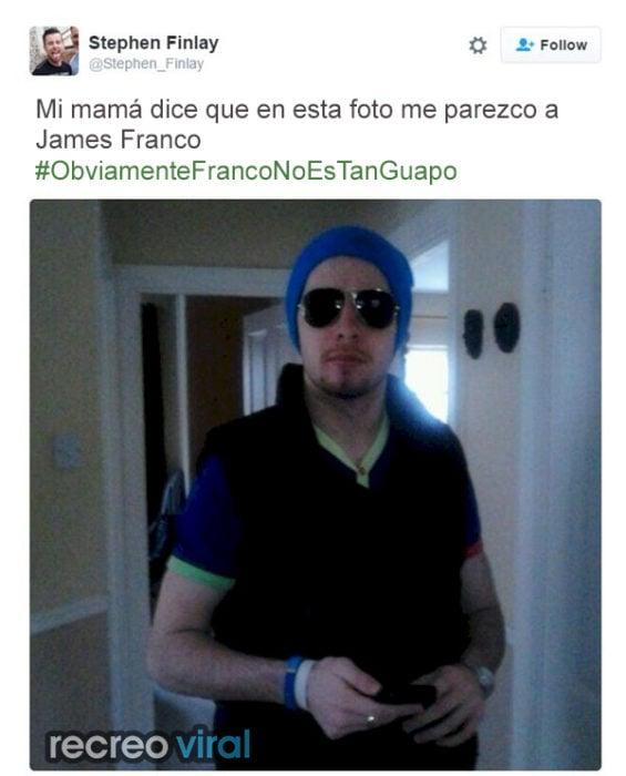 Mamá cree que se parece a James Franco