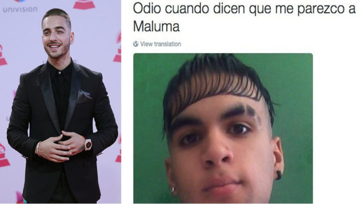 Chico idéntico a Maluma