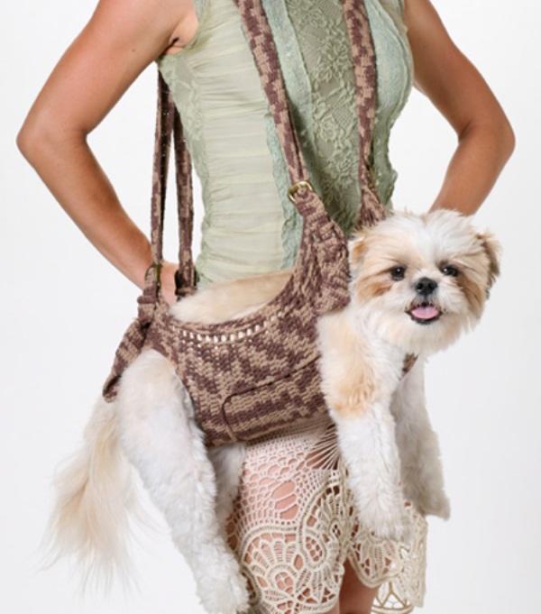 Productos perros - bolsa para cargar al perro