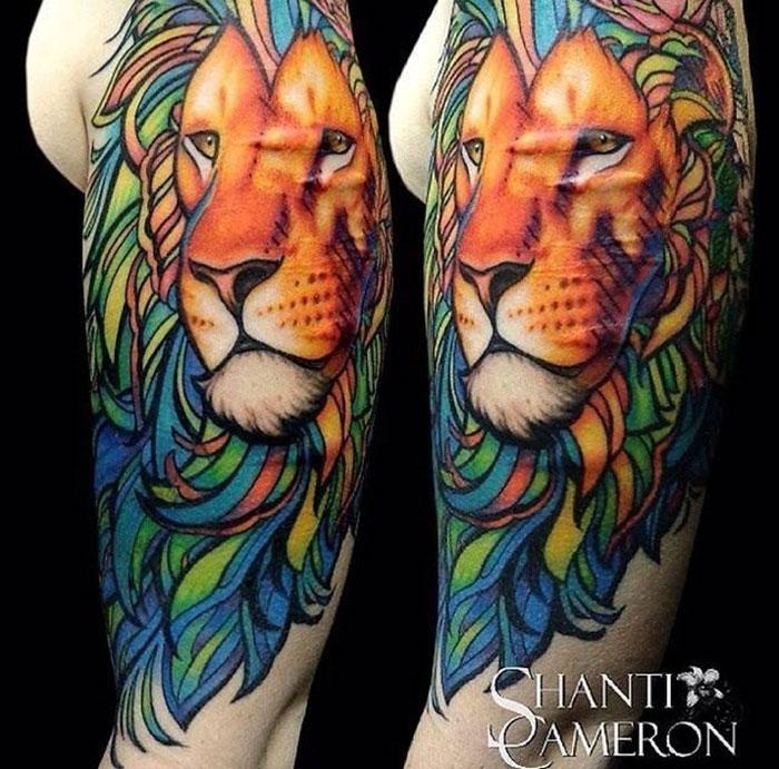 Cicatriz de león