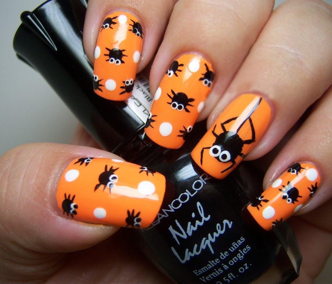 35 Diseños para lucir unas uñas perfectas este halloween