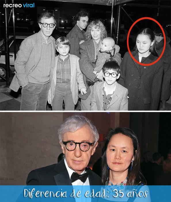 Amor o dinero - Woody Allen y Soon Yi