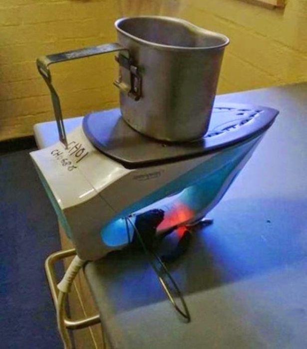 hervir agua sin estufa