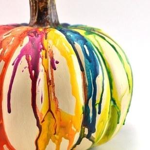 calabaza de colores