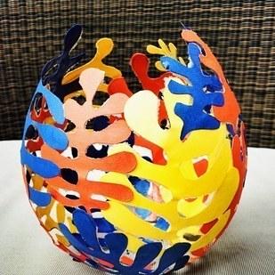 huevo de colores