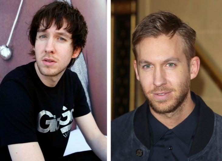 Calvin Harris antes e depois