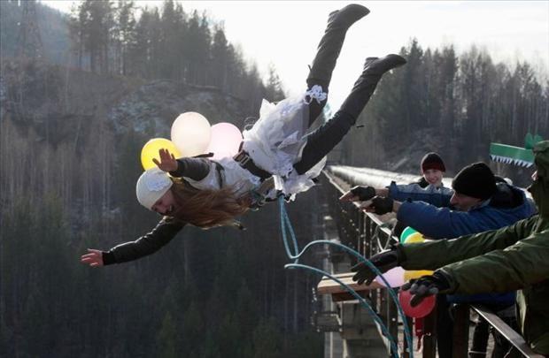 salto con globos