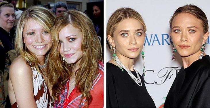 las gemelas olsen antes y después