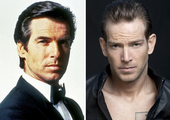 Pierce Brosnan y Sean Brosnan