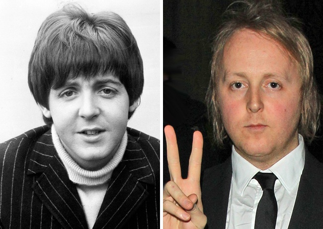 Paul McCartney y James McCartney