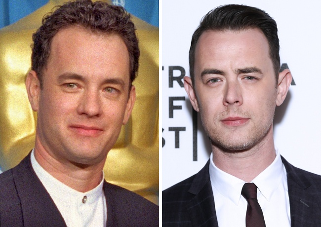 Tom Hanks y Colin Hanks