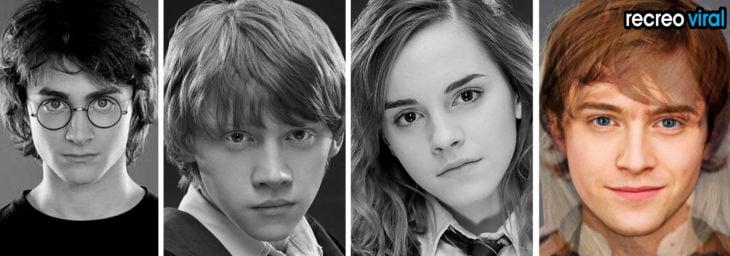 harry ron y hermione mashup