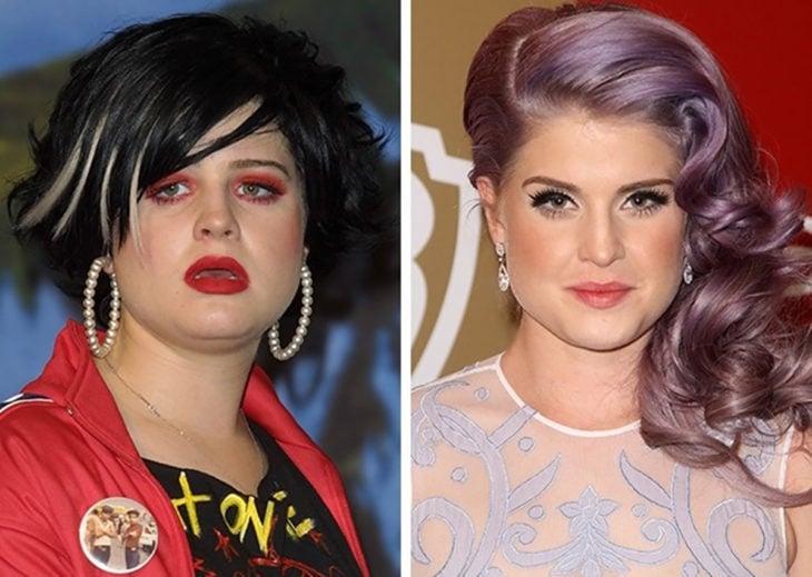 Kelly Osbourne antes y después