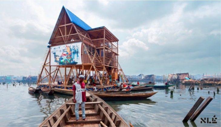 escuela flotante de makoko