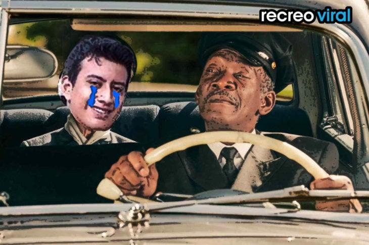 morgan freeman de taxista y sujeto