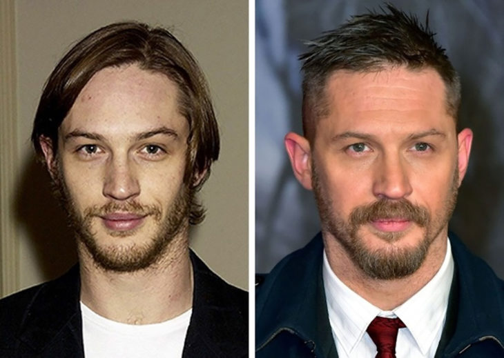 tom hardy antes y después