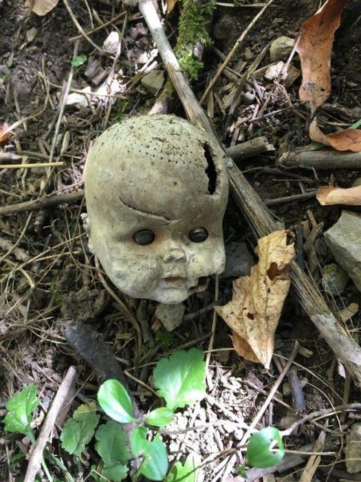 cabeza de muñeca