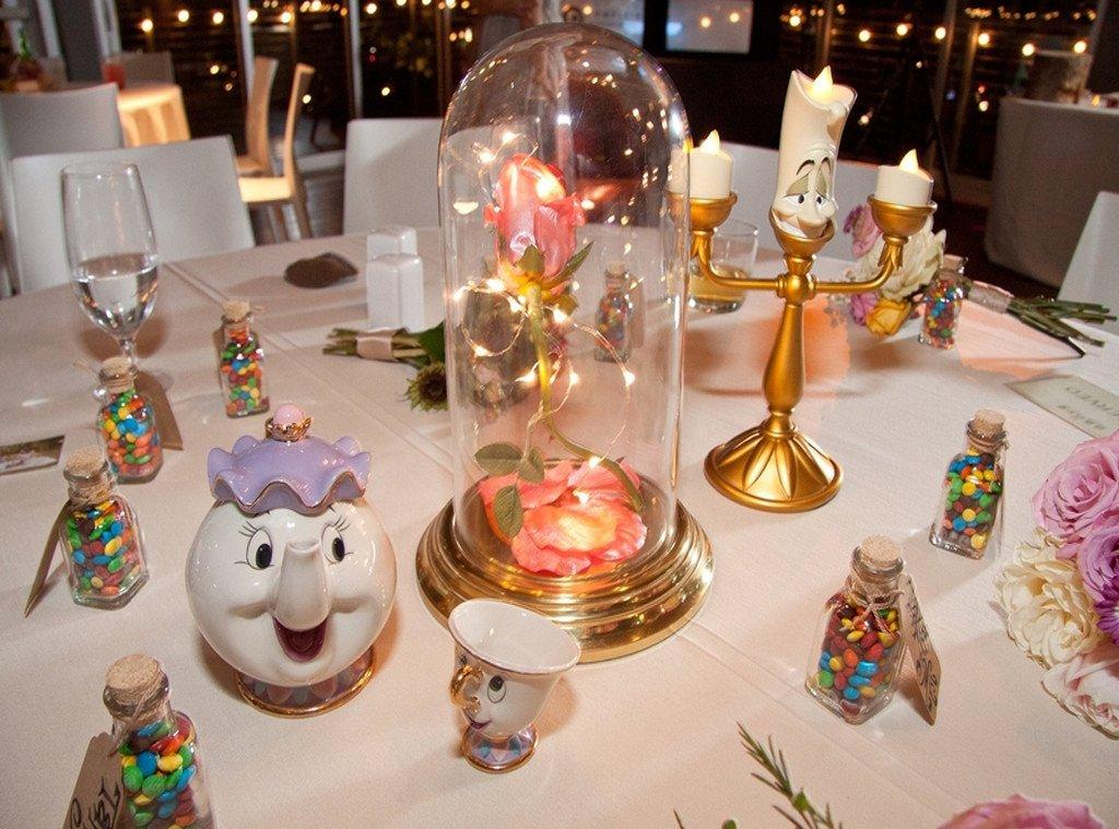 Novia elaboró los centros de mesa de su boda inspirados en ...