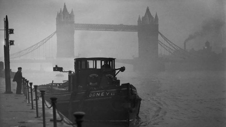 imagen de la niebla tóxica