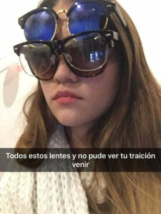 Historias Snapchat - tantos lentes