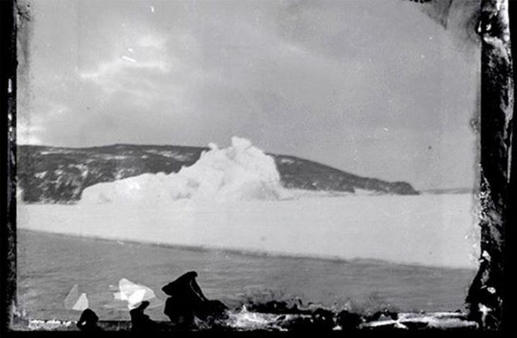 Fotografía de la Antártida hace 100 años