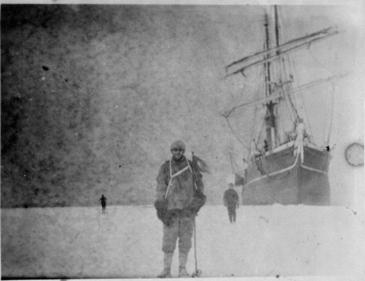 Expedición realizada hace 100 años en la Antártida