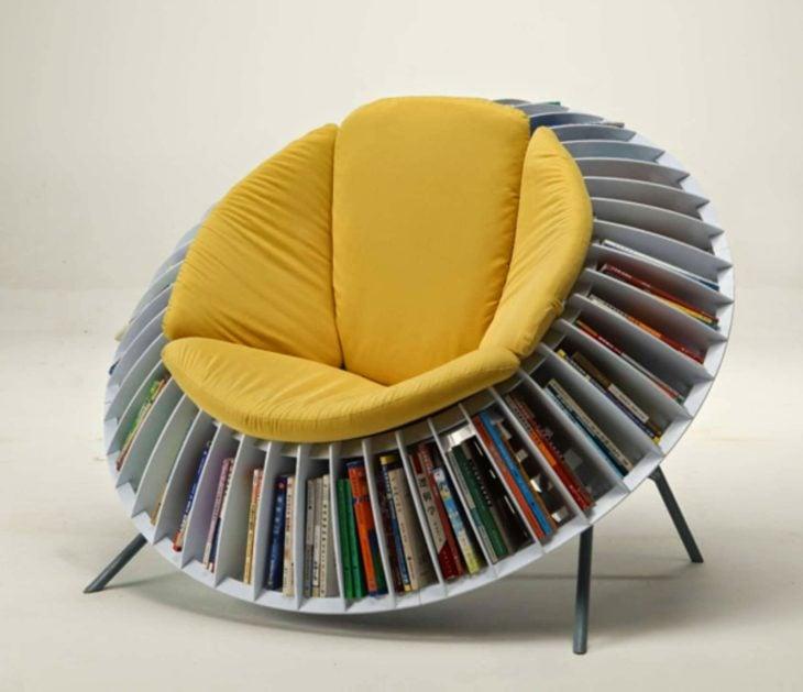 sillón librero