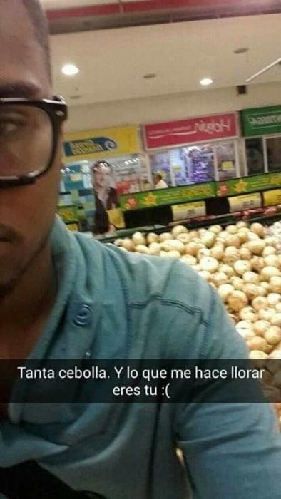 Snapchat historias de amor - tantas cebollas