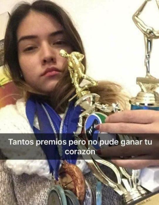 Historias Snapchat - tantos trofeos
