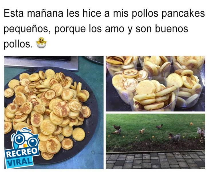 pancakes pequeños