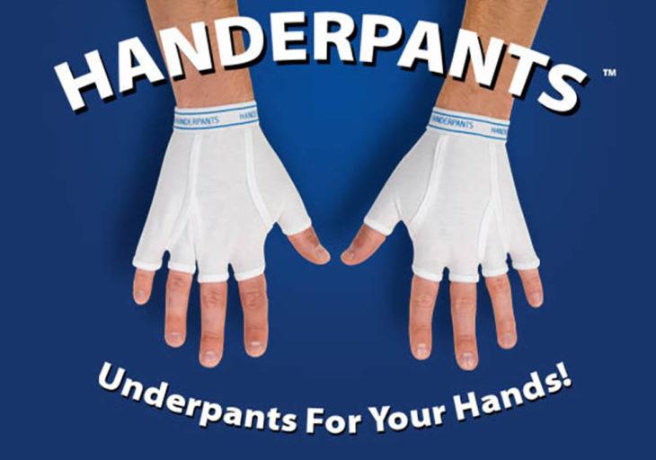 calzones para las manos
