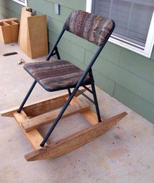 silla de mecer hechiza