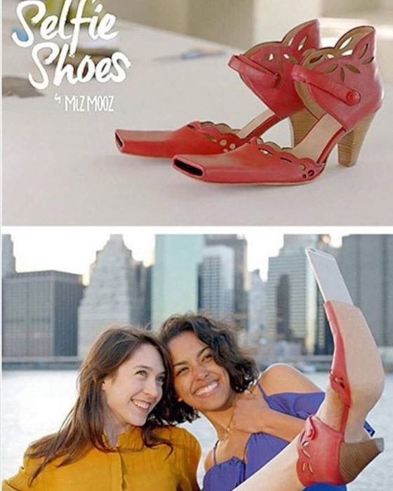 zapatos para tomar fotos