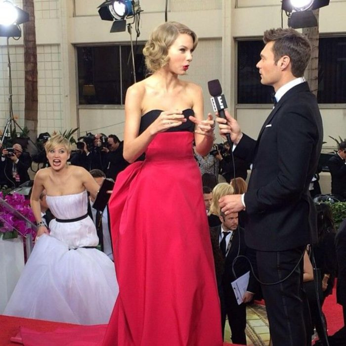 jennifer lawrence en foto de taylor swift