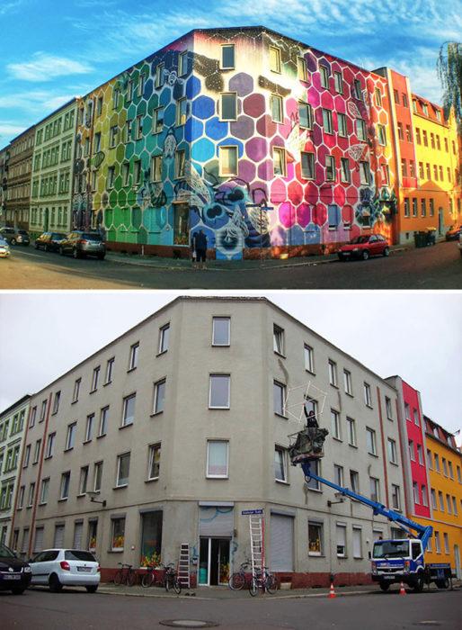 mural El Panal de la Vida - Alemania