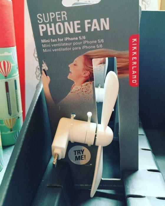 ventilador para celular