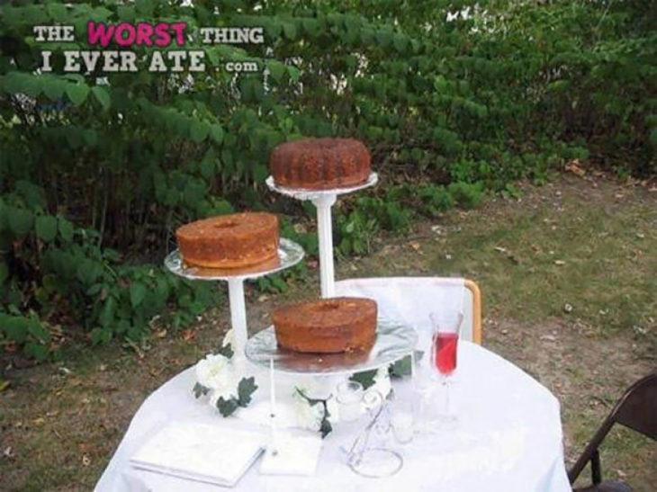 roscas de pastel caseras
