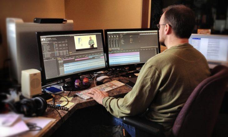 persona editor de vídeo