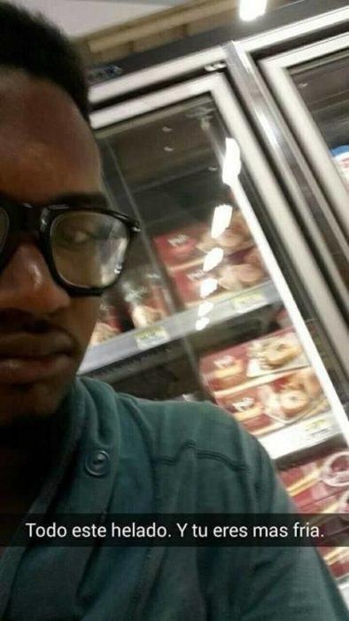 Snapchat historias de amor - tanto helado