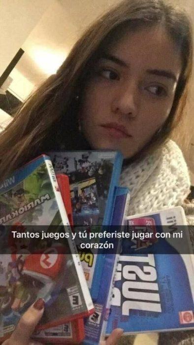 Historias Snapchat - tantos juegos