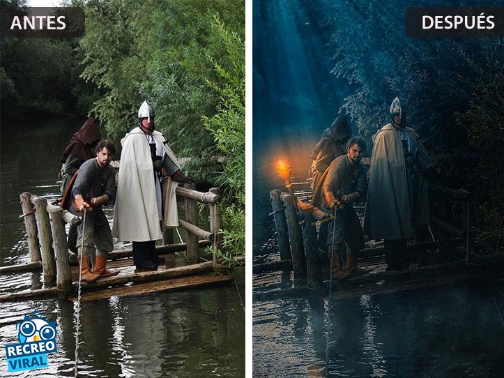 Magia de Photoshop - Navegando en el día/noche