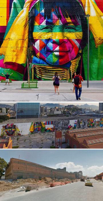 mural Las Etnias - Río de Janeiro, Brasil