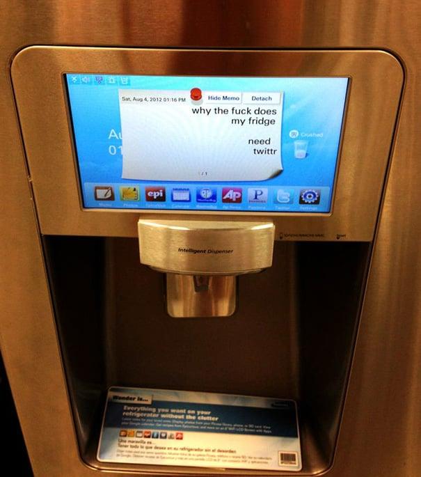 monitor de refrigerador