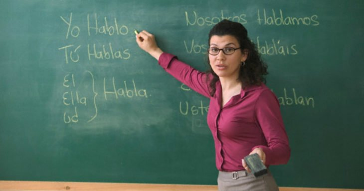maestra de español