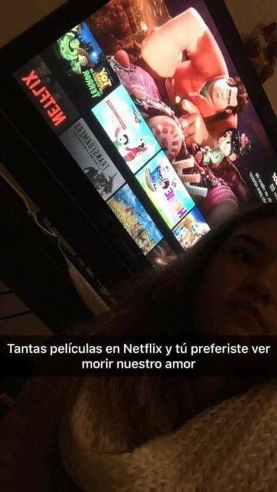 Historias Snapchat - tantas películas